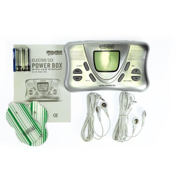Elektro Sex Power Box mit LCD-Display
