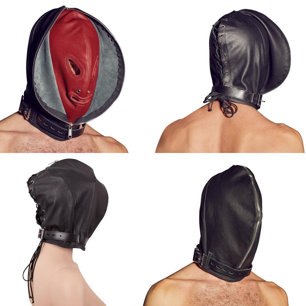 ZADO-Leder-Doppelmaske