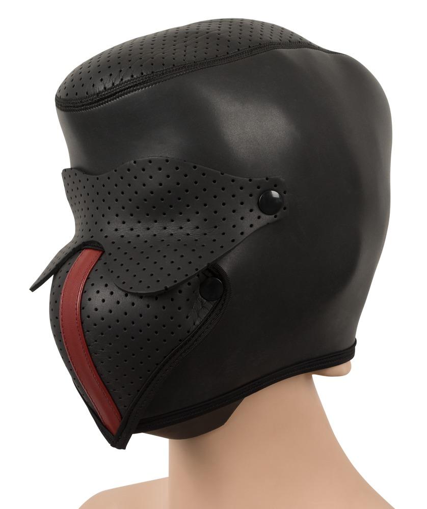 Hautenge Kopfmaske aus Neopren