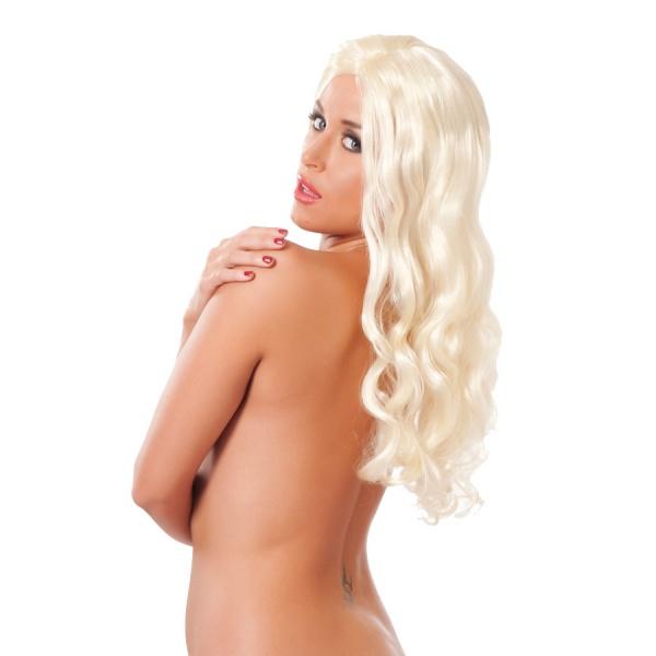 Perücke Langhaar blond