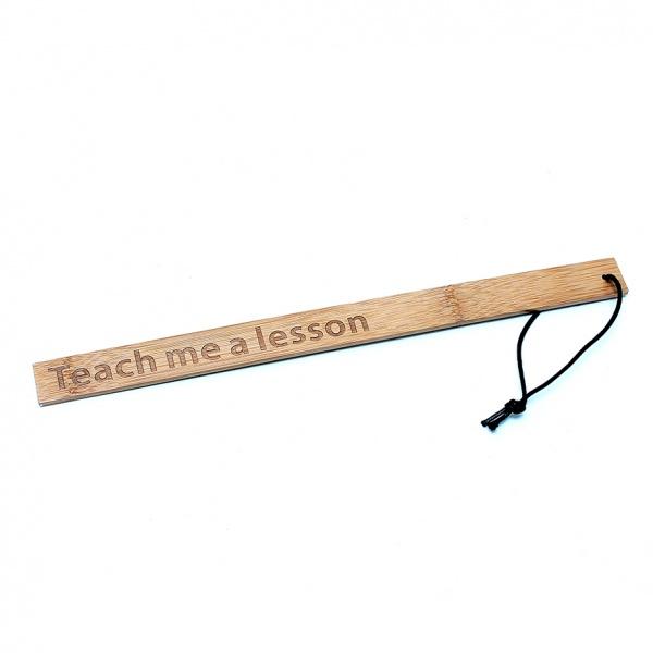 Bambus-Lineal - Teach me a Lesson